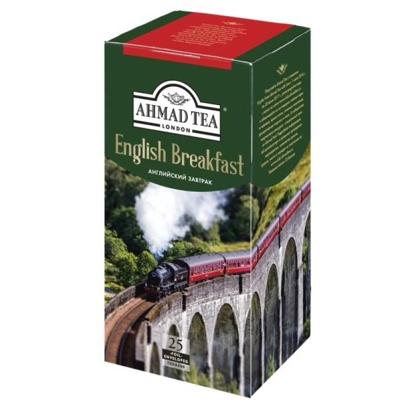 """Чай английский завтрак """"Ahmad Tea"""", 25*2гр"""