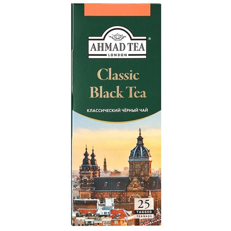 """Чай черный классиеский """"Ahmad Tea"""", 25*2гр"""