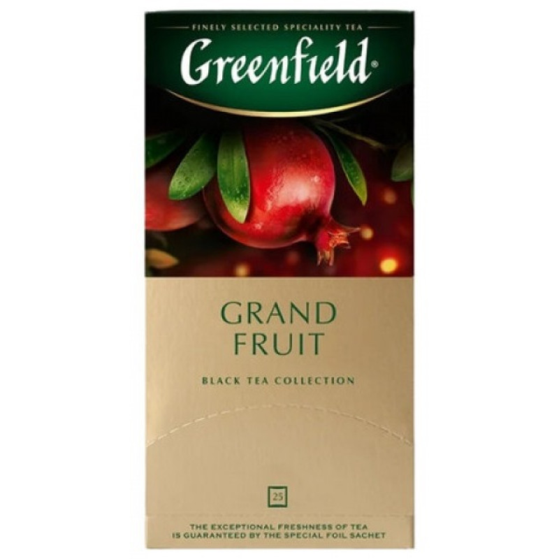 "Чай черный Grand Fruit ""Greenfield"", 25пак*1. 5гр"