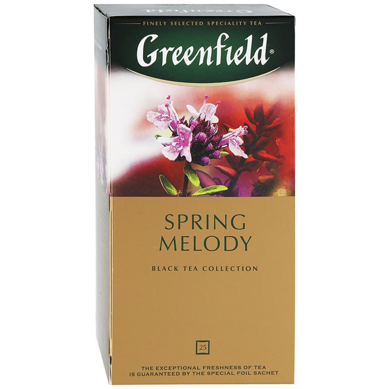 "Чай черный индийский Spring Melody ""Greenfield"", 25пак*1. 5гр"