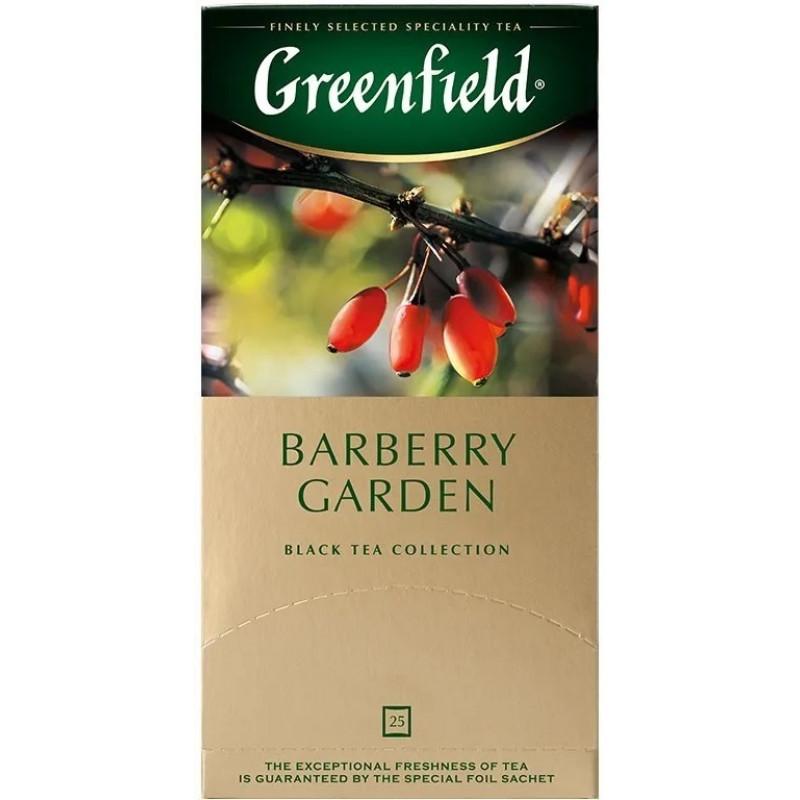 """Чай черный индийский Barberry Garden """"Greenfield"""", 25пак*1. 5гр"""