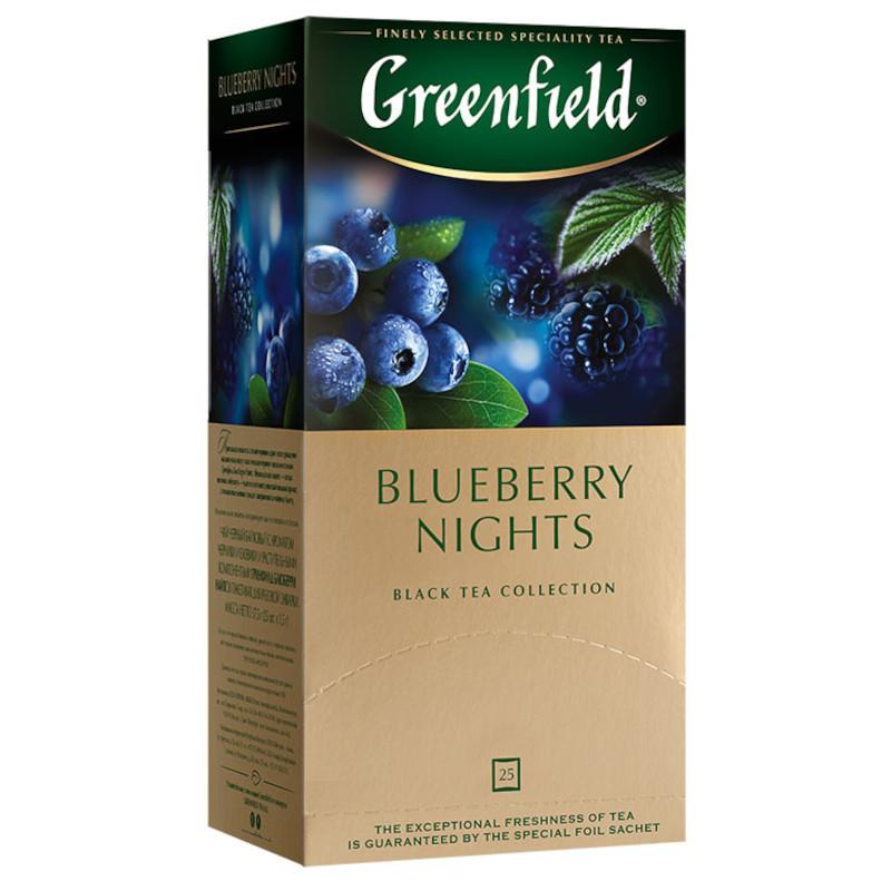 "Чай черный байховый ""Blueberry nights"", 25пак*1. 5гр"