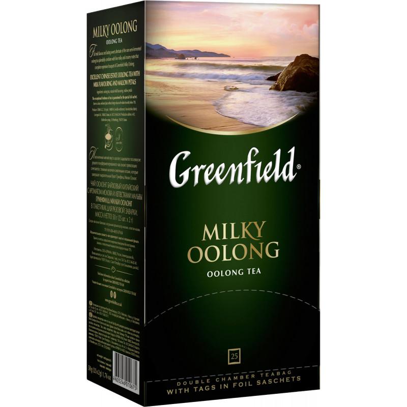 "Чай бирюзовый Milky Oolong ""Greenfield"", 25пак*2гр"