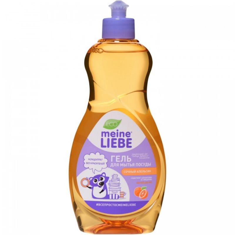 """Гель для мытья посуды концентрированный с ароматом сочного апельсина """"Meine Liebe"""", 500мл"""