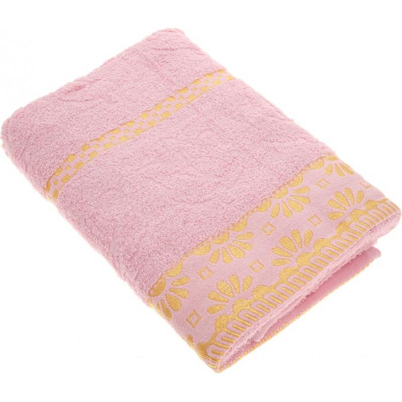 """Полотенце махровое гладкокрашенное розовое 50*90см Almond Blossom Дубравушка """"Василиса"""", 1шт"""