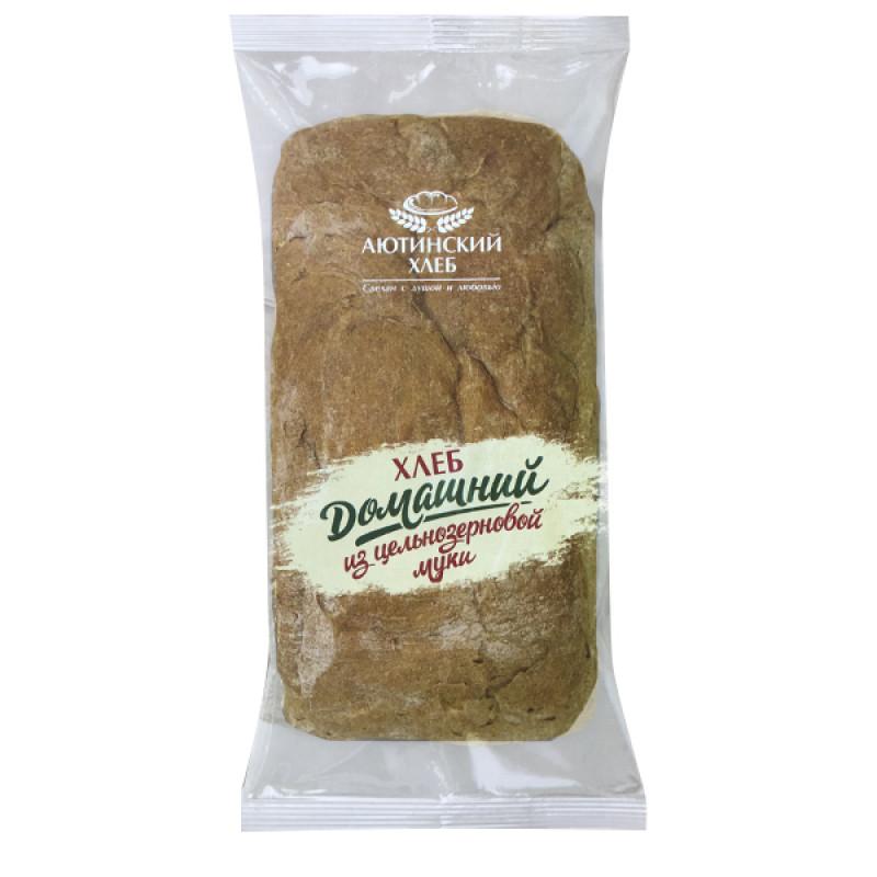 """Хлеб домашний из цельноцерновой муки """"Аютинский хлеб"""", 550гр"""