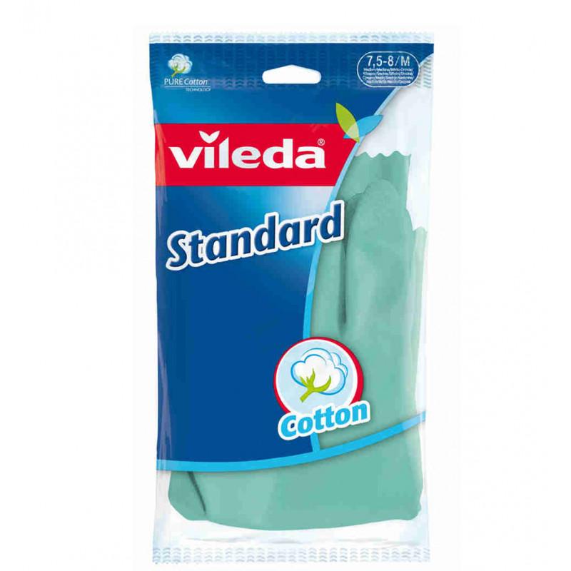 """Перчатки с напылением standart """"Vileda"""", 1шт"""