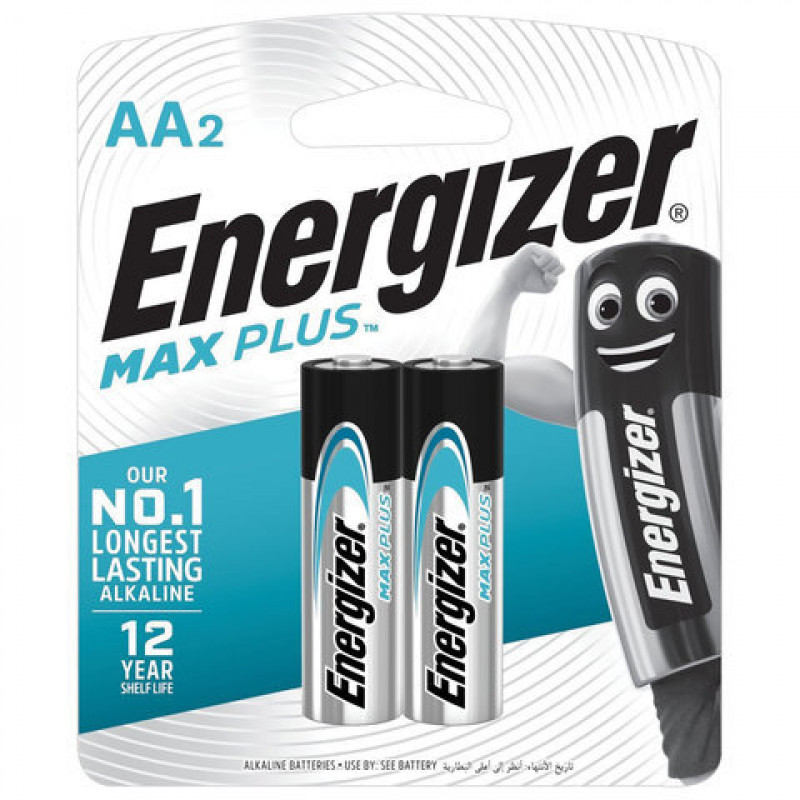 "Батарейки Max Plus AA/E91 BP2 ""ENERGIZER"", 2шт"