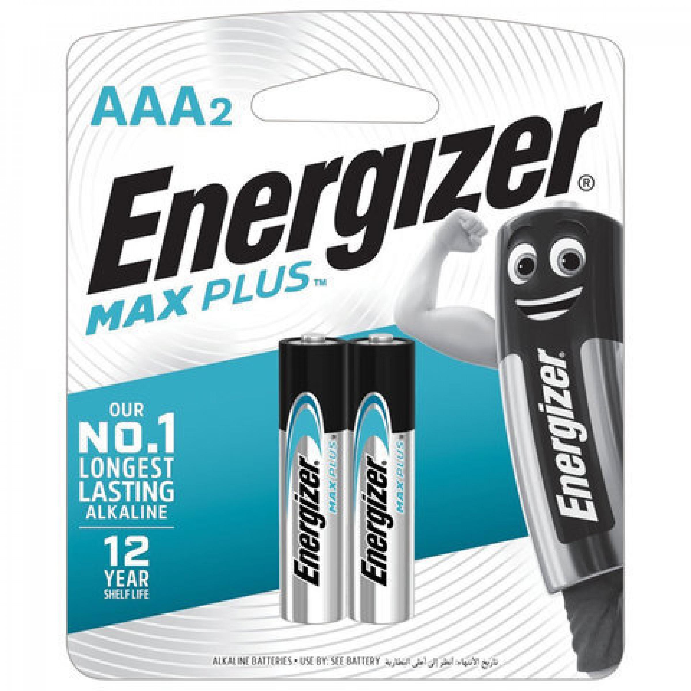 "Батарейки Max Plus AAA/E92 BP2 ""ENERGIZER"", 2шт"