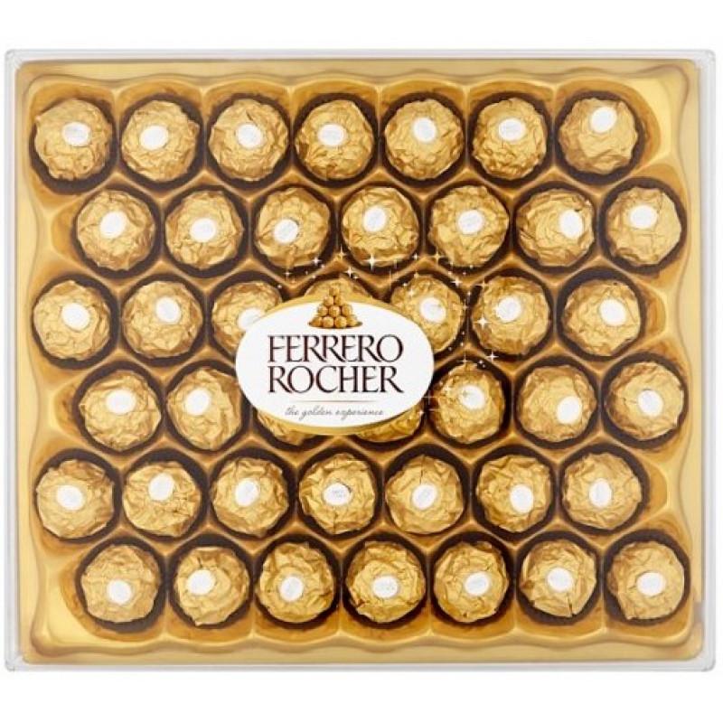 Конфеты Ferrero Rocher из молочного шоколада, с начинкой из крем