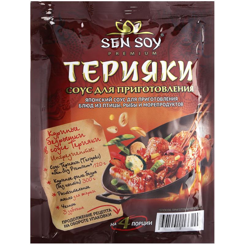 Соус для приготовления Sen Soy Терияки, 120гр