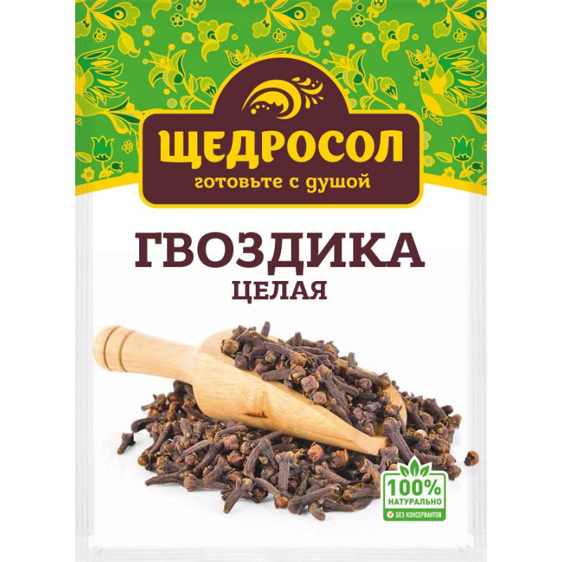 Гвоздика целая, Щедросол, 10 гр
