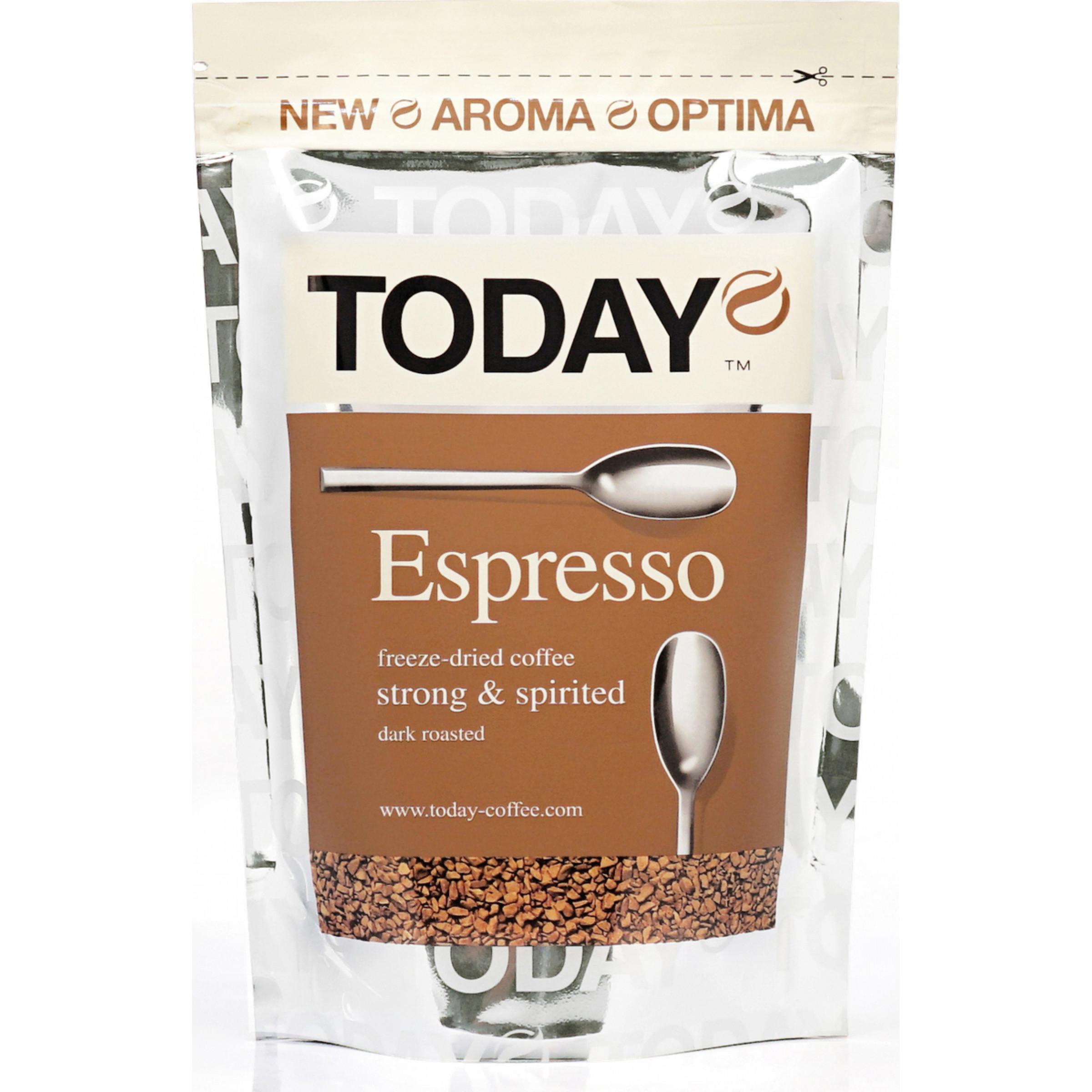 Кофе растворимый Today Espresso, 75 гр
