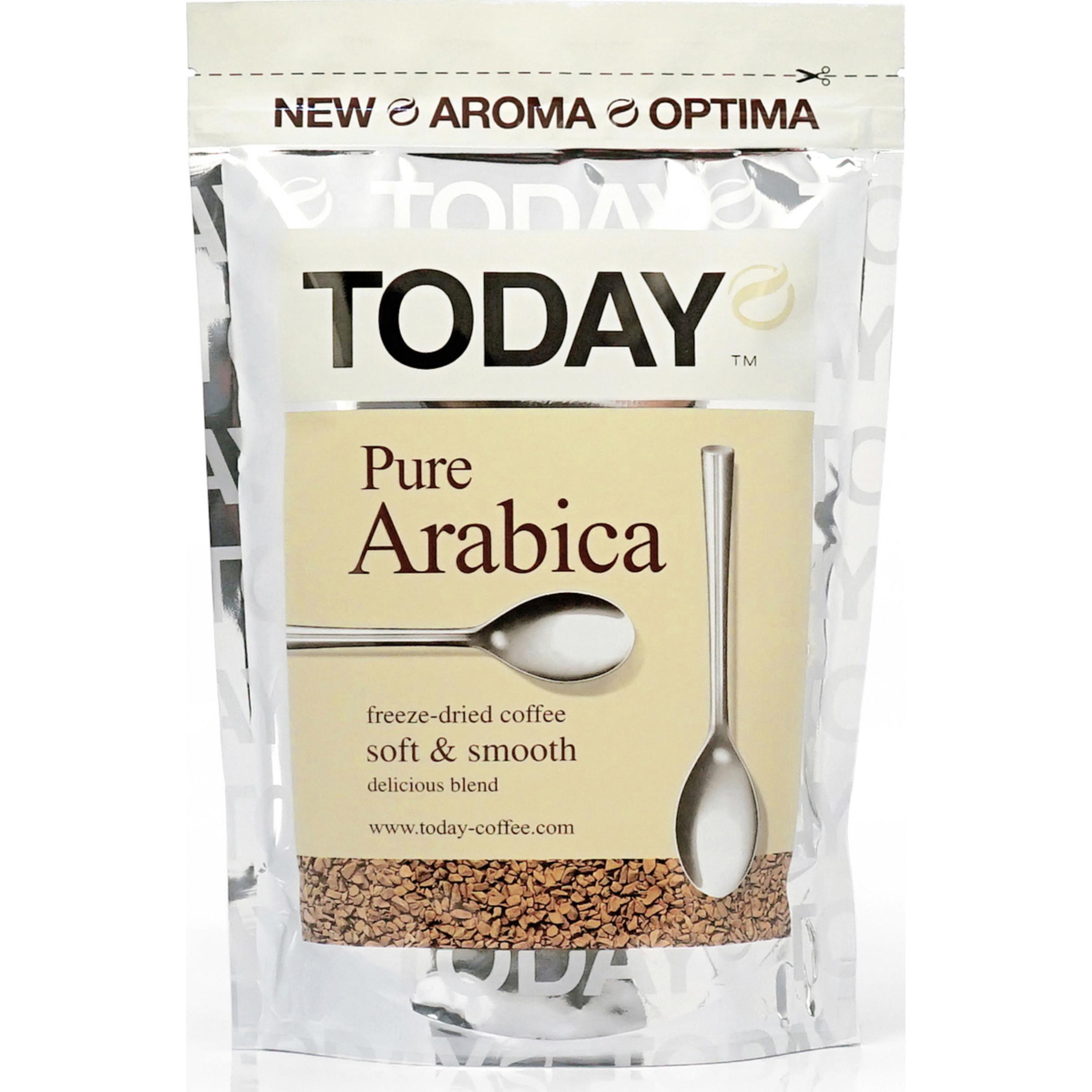 Кофе растворимый Today Pure Arabica, 75 гр