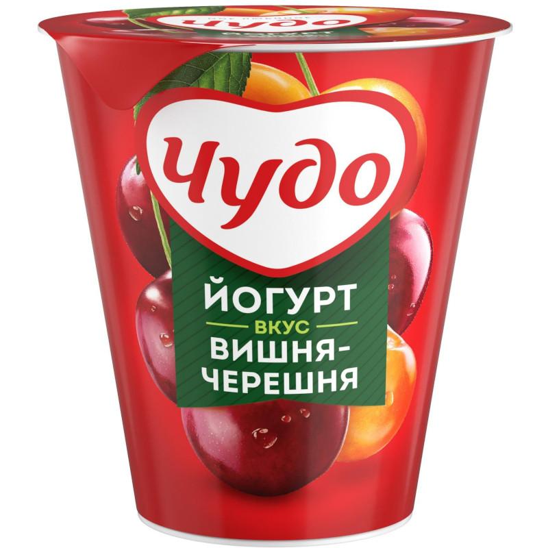 Йогурт Чудо 2. 5% вишня-черешня, 290г