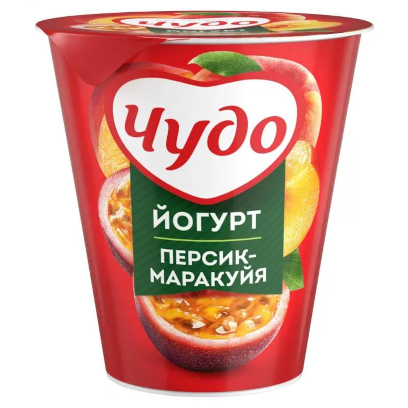 Йогурт Чудо 2. 5% персик-маракуйя, 290г