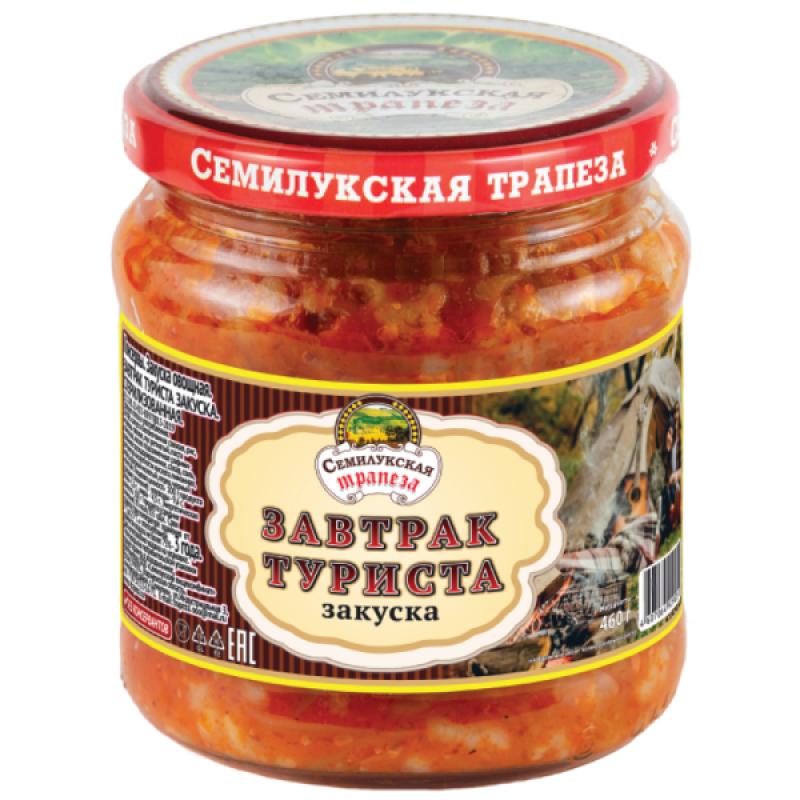 Закуска овощная Завтрак туриста Семилукская трапеза, 460 гр