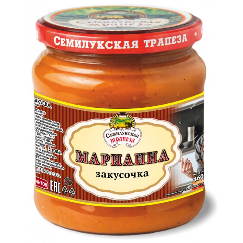 Закуска овощная Марианна закусочка Семилукская трапеза, 460 гр