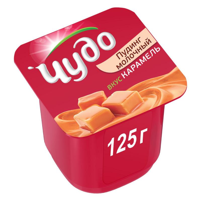Пудинг Чудо 3% карамельный, 125г