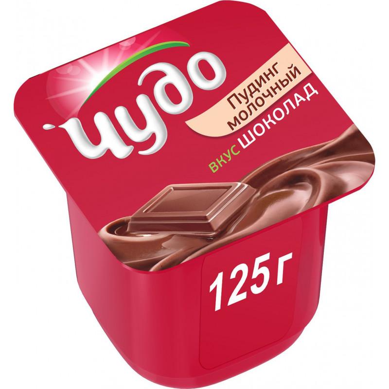 Пудинг Чудо 3% шоколадный, 125г