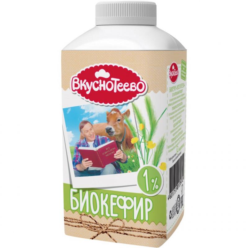 Биокефир Вкуснотеево 1%, 450 гр