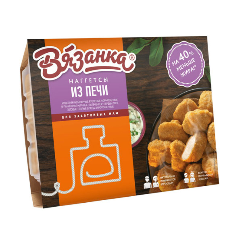 Наггетсы из печи Вязанка, 250 гр