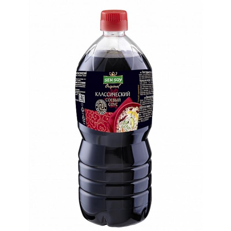 Соевый соус Классический Сэн Сой, 1 л