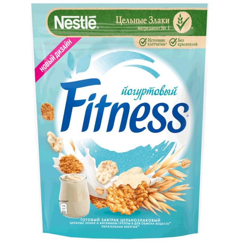 Готовый завтрак Fitness хлопья из цельной пшеницы с йогуртовой г