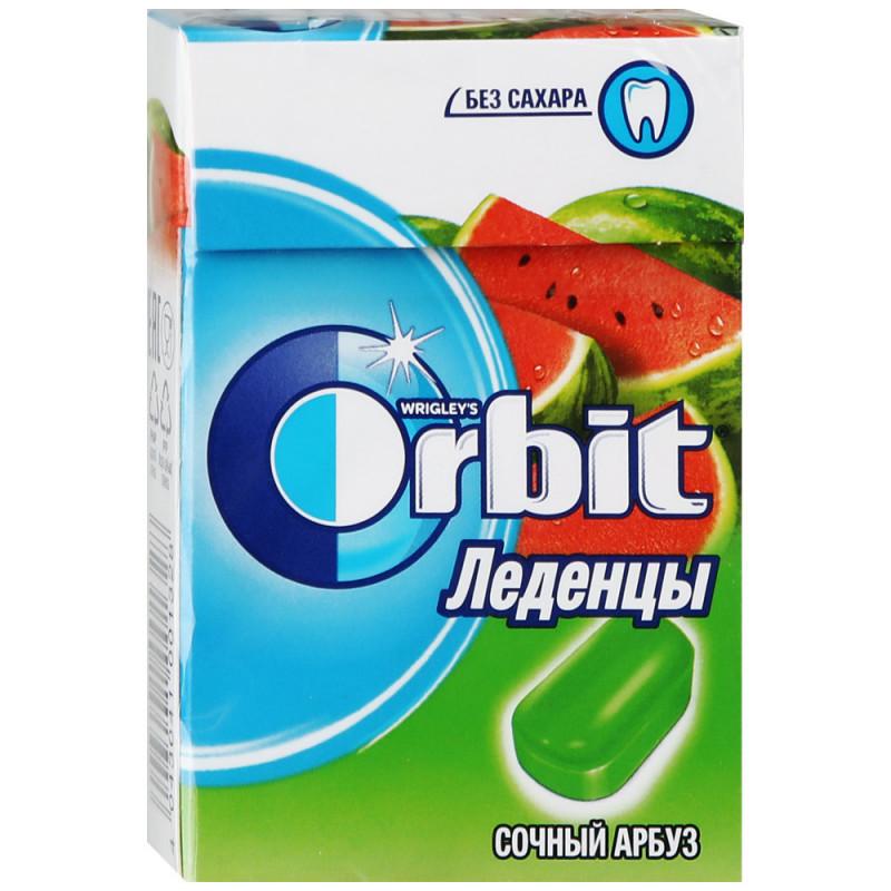 Леденцы Orbit Drops Сочный арбуз без сахара, 35 гр