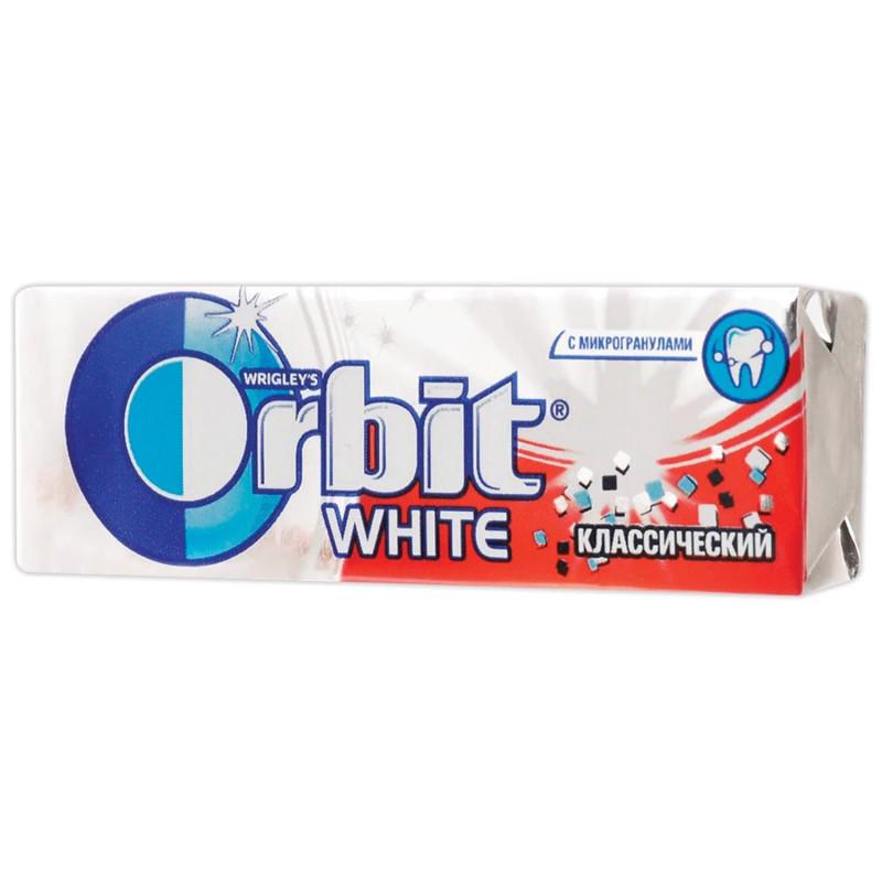 Жевательная резинка Orbit Белоснежный Классический, 13, 6 гр