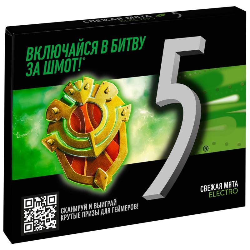 Жевательная резинка Five Мята, 31, 2 гр