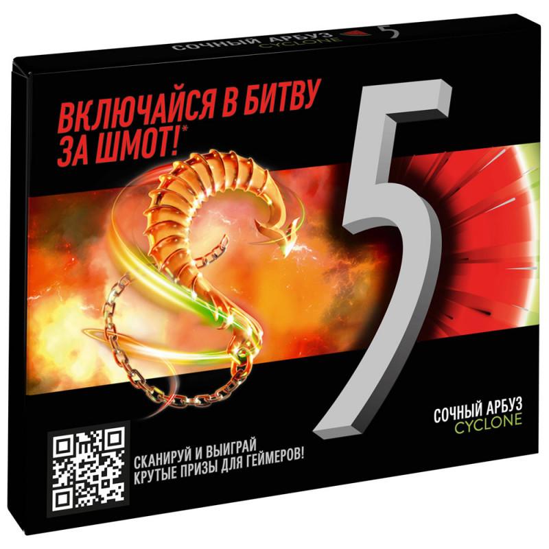 Жевательная резинка Five Сочный Арбуз, 31, 2 гр