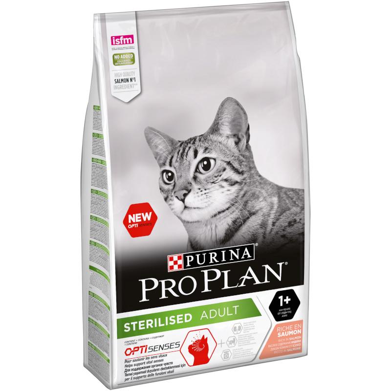 Сухой корм Purina Pro Plan для взрослых стерилизованных кошек и