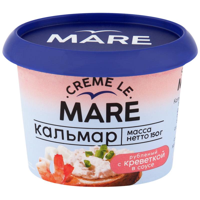 Кальмар Рубленный с креветкой в сливочном соусе Балтийский Берег, 150 гр