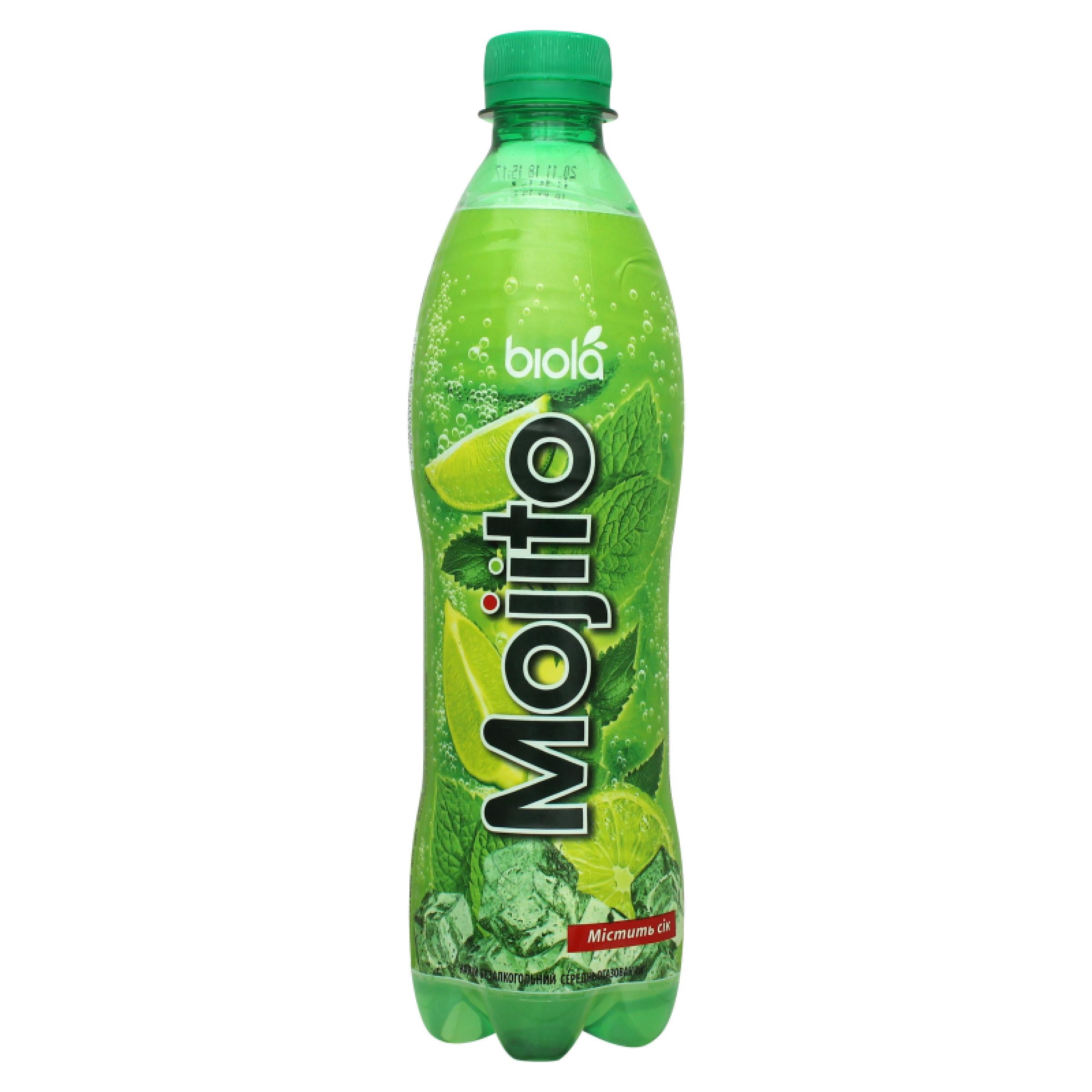 Напиток газированный Биола Мохито, 500 мл