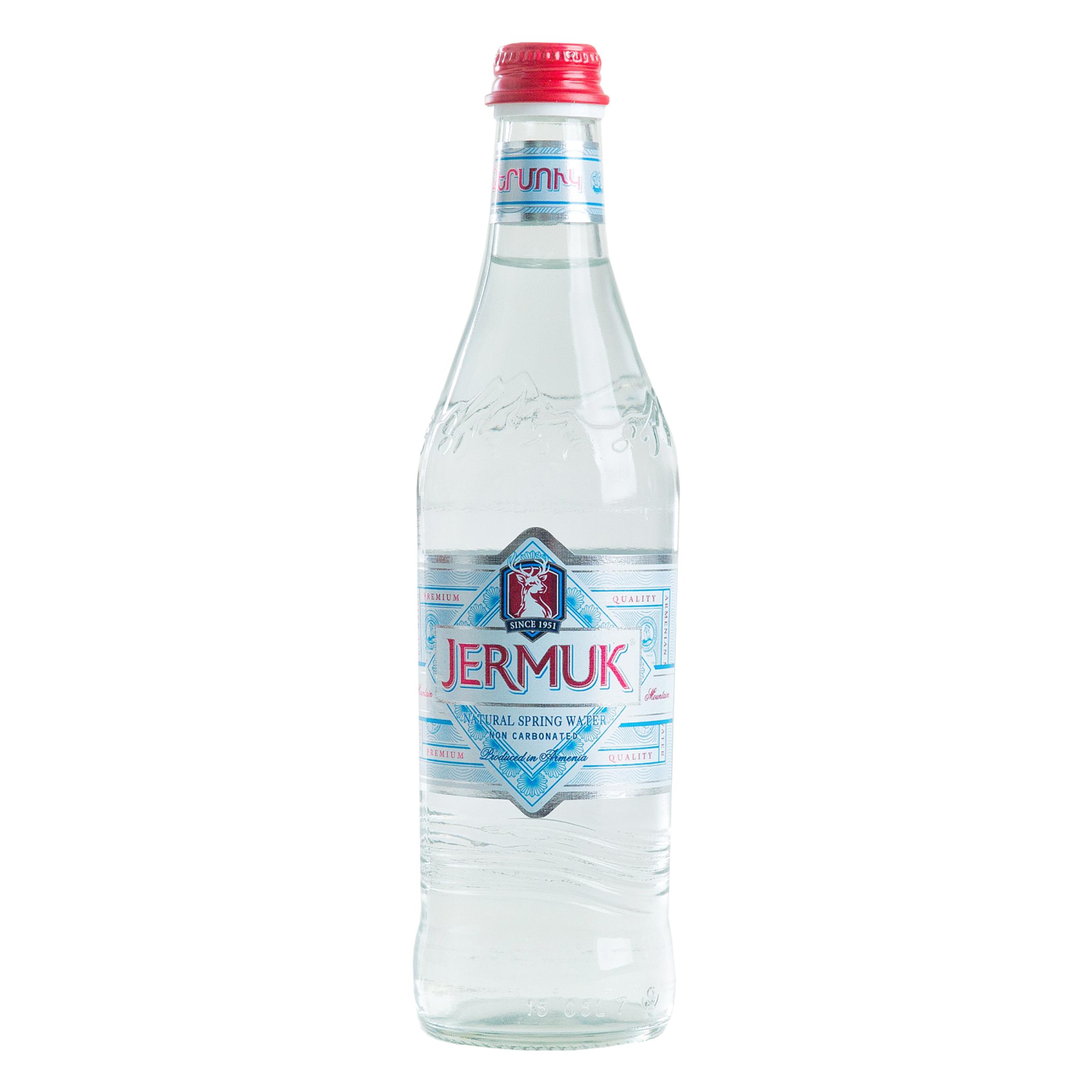 Вода минеральная негазированная ДЖЕРМУК Маунтин, 500 мл
