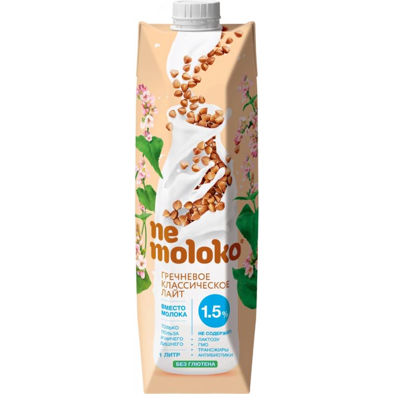Напиток Nemoloko Гречневый классический лайт 1, 5%, 1 л