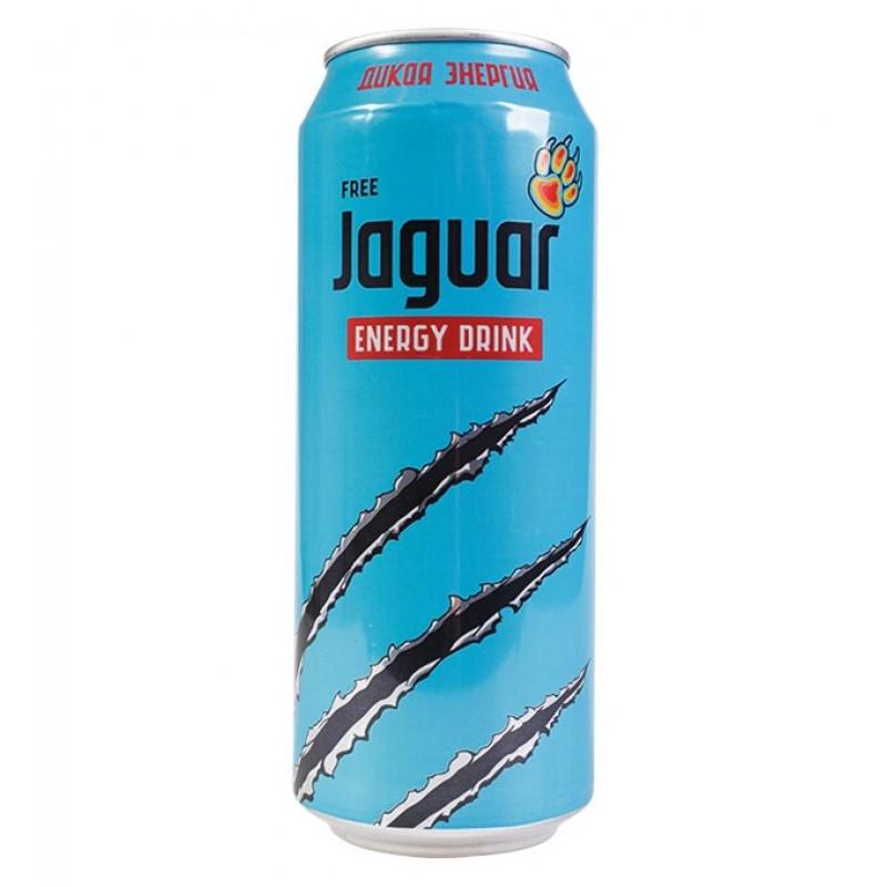 Энергетический напиток Jaguar Wild Free, 500 мл