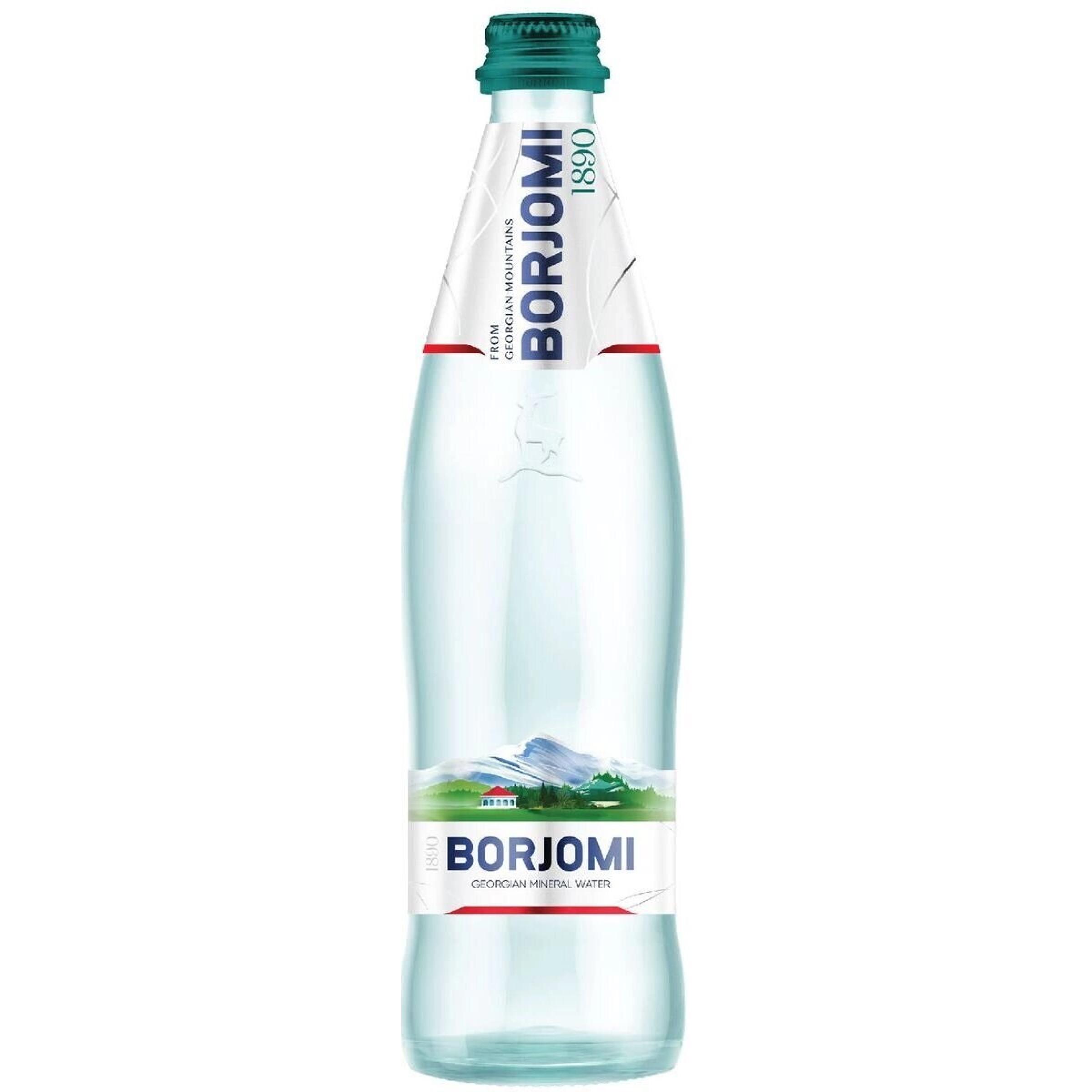 Вода минеральная газированная Боржоми, 500 мл