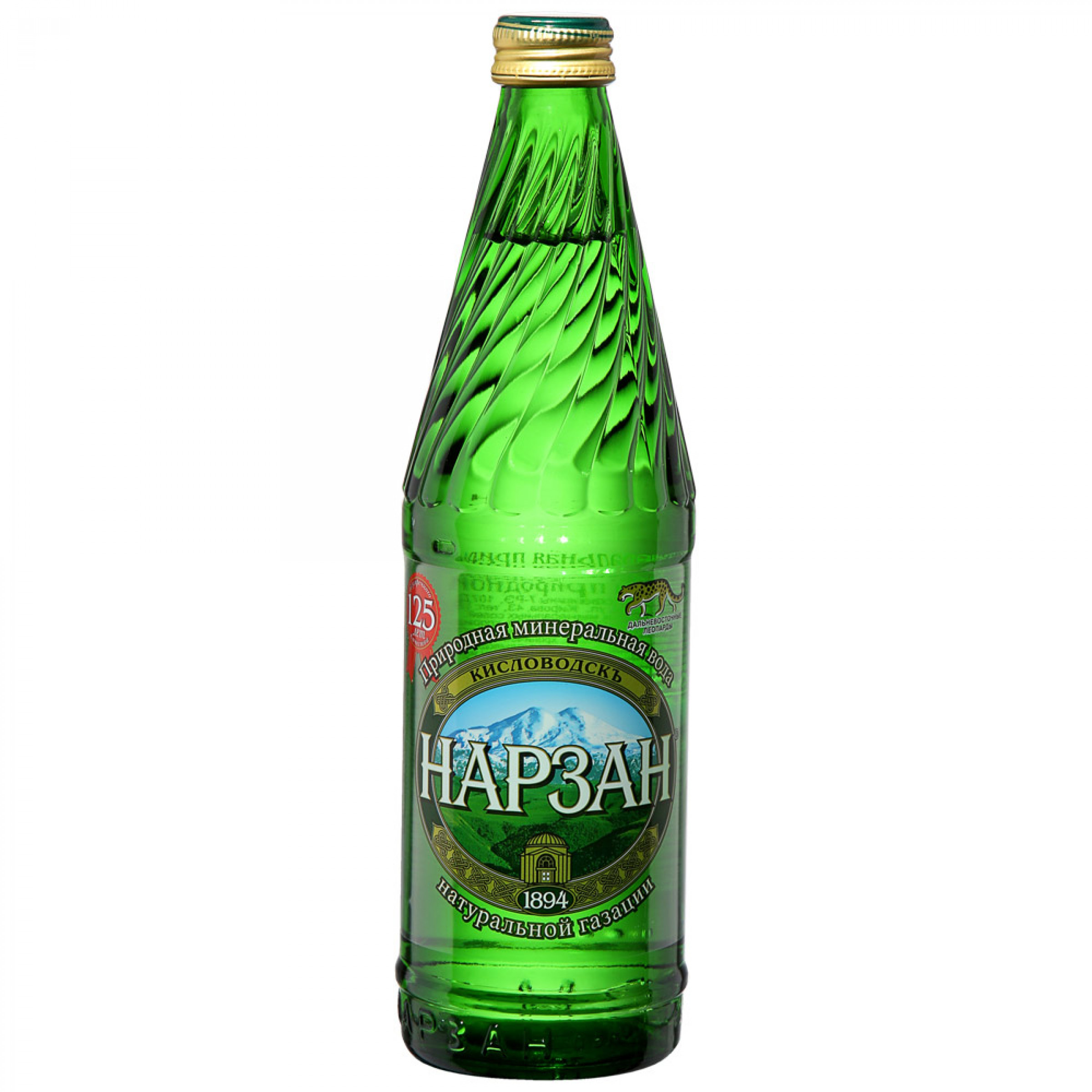 Вода минеральная газированная Нарзан, 500 мл