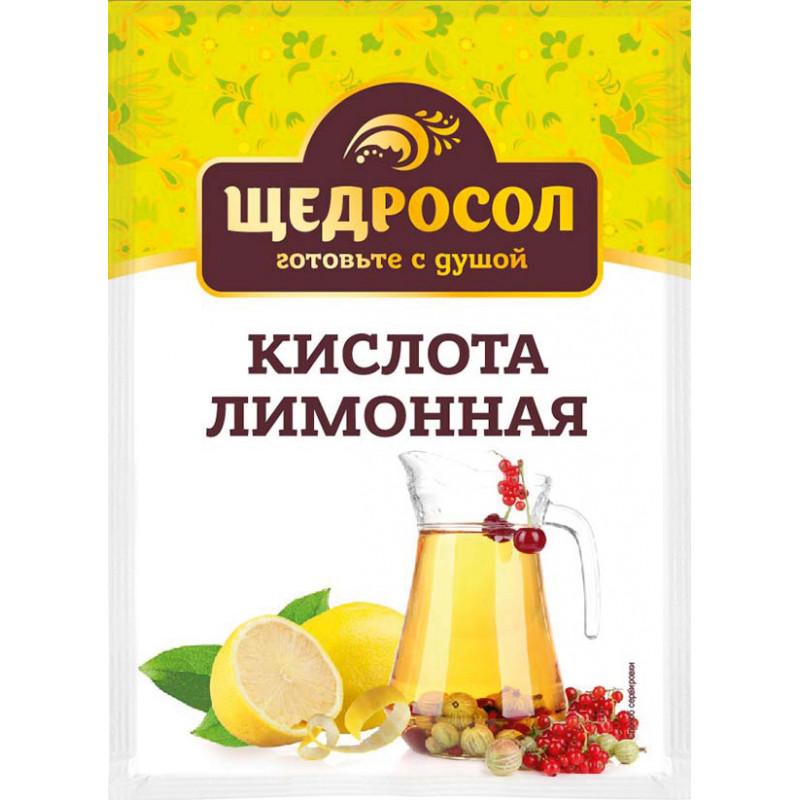 Лимонная кислота Щедросол, 10 гр