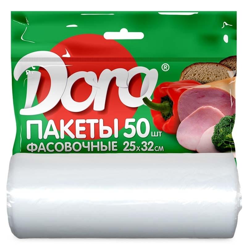 Пакет фасовочный Dora 25х32см, 50 шт