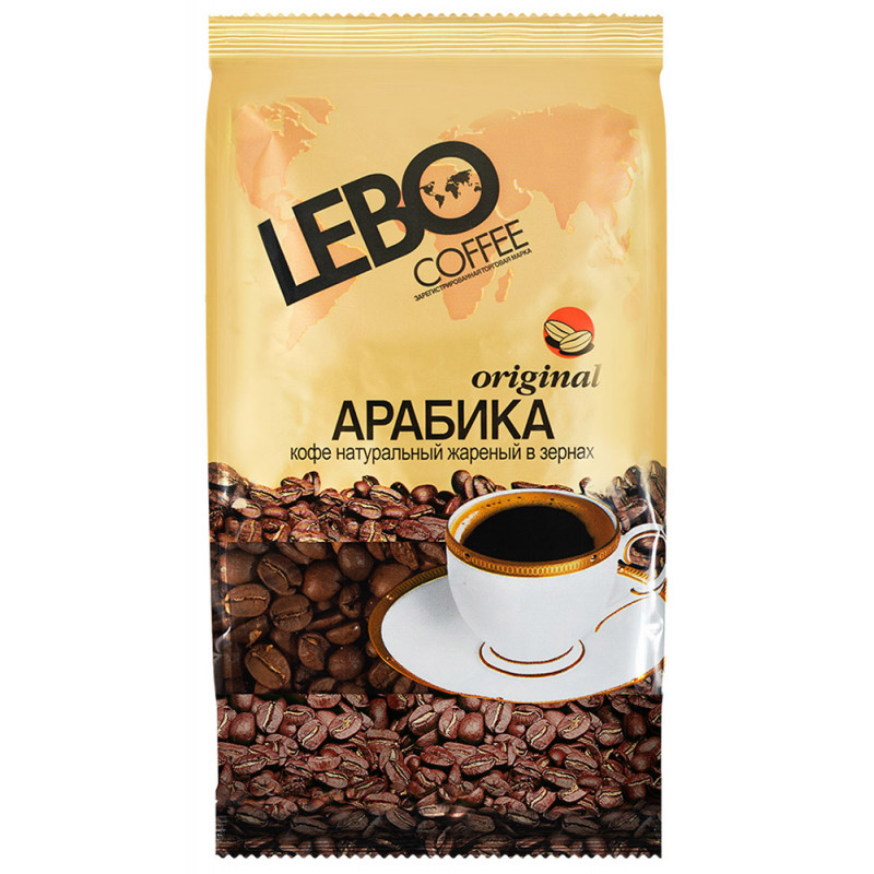 Кофе LEBO Original в зернах, 100 гр
