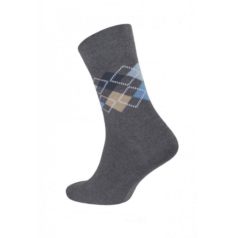 Носки мужские CONTE DIWARI COMFORT (меланж) цвет темно-серый, размер 41-42