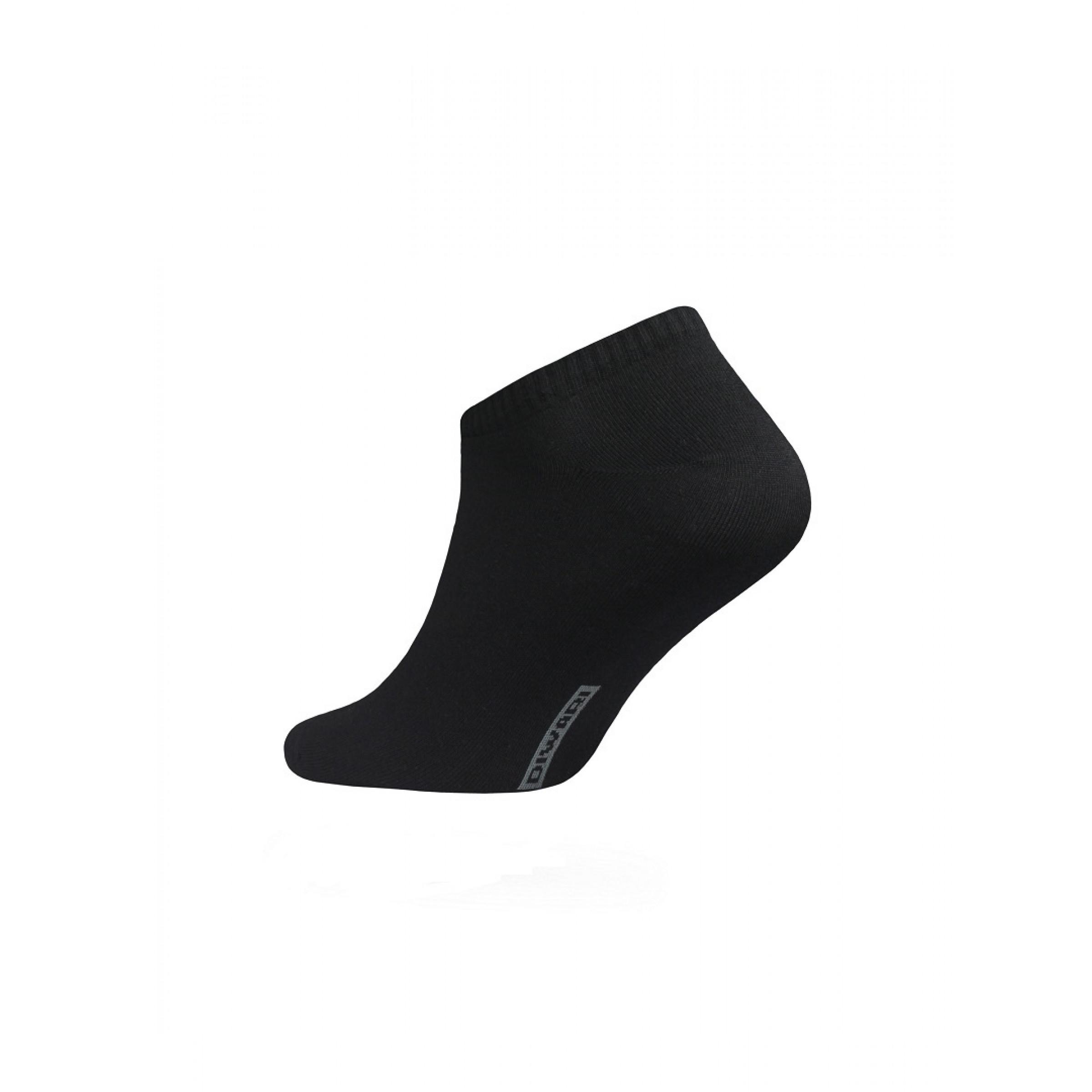 Носки мужские CONTE DIWARI ACTIVE (ультракороткие) цвет черный, размер 41-42
