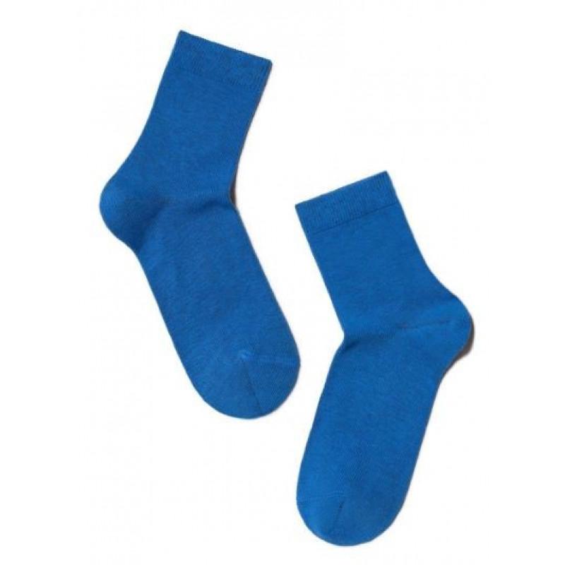 Носки детские CONTE ESLI, цвет синий, размер 30-32