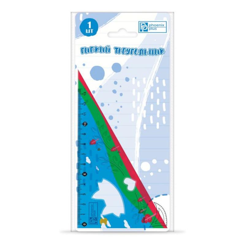 Треугольник РАЗНОЦВЕТНЫЙ 13 см, 1 шт