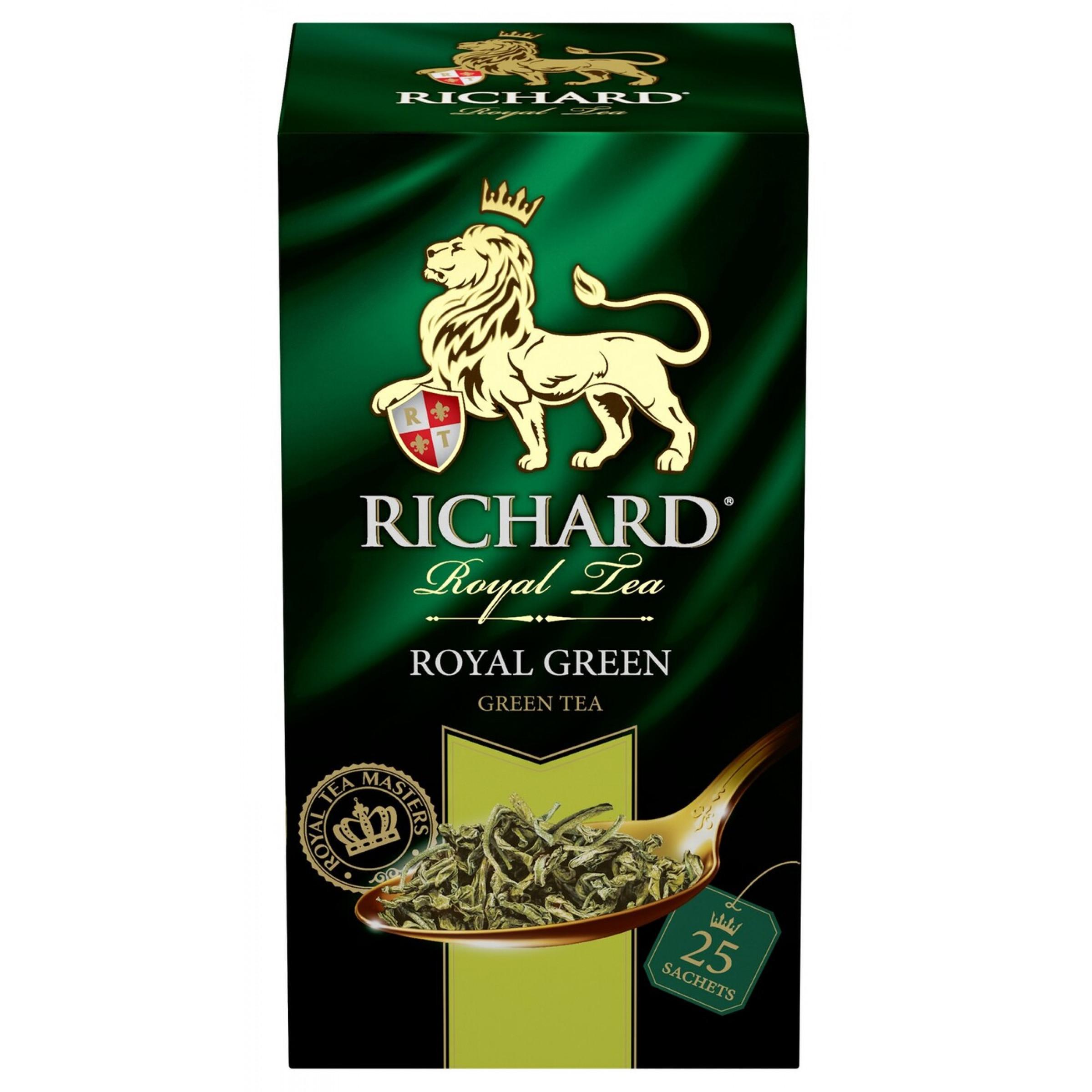Чай зеленый Richard Роял Грин, 25пак*2гр