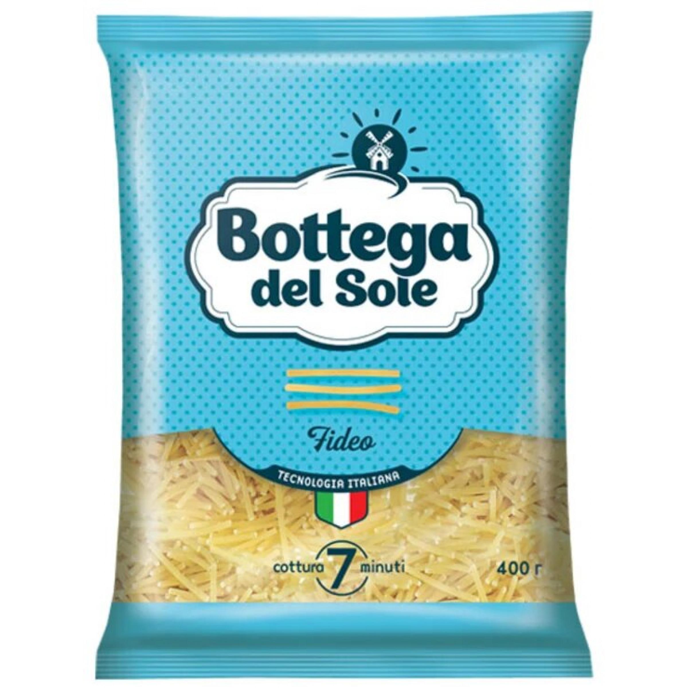 Макаронные изделия Bottega del Sole Вермишель, 400 гр