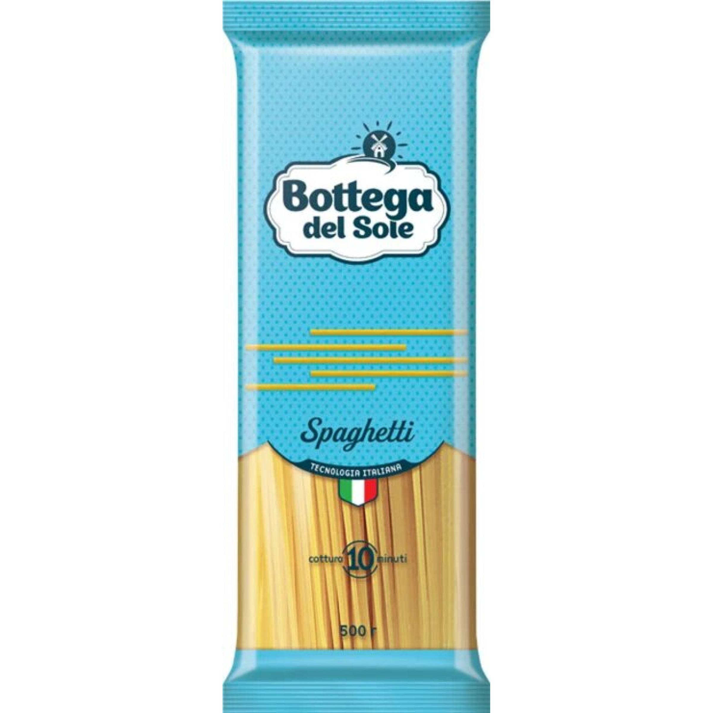 Макаронные изделия Bottega del Sole Спагетти, 500 гр